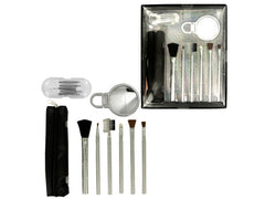 Cosmetic Brush Set: Case of 4