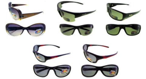 Assorted Men's and Women's Polarized Sunglasses Case Pack 24