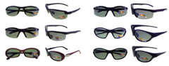 Assorted Style Sporty Polarized Sunglasses Case Pack 24