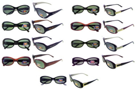 Assorted Color and Style Polarized Sunglasses Case Pack 24