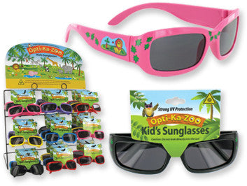 Opti-Ka-Zoo: Kids Sunglasses Case Pack 60