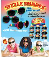 Sizzle Shades Kids Sunglasses Case Pack 60