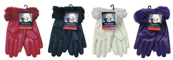 Ladies Leather Gloves Case Pack 72