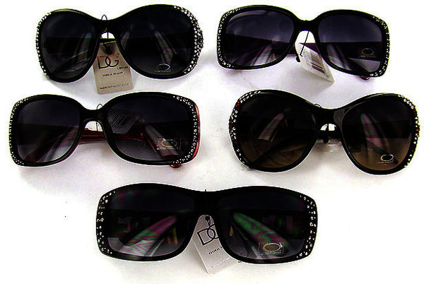 DG Sunglasses with Crystals Case Pack 3