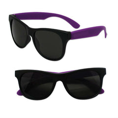 Adult Size Black and Purple Sunglasses Case Pack 300