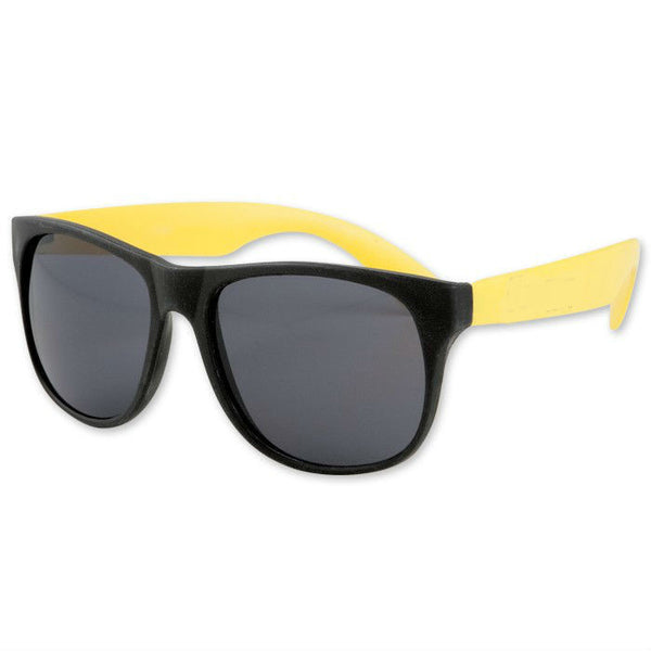 Adult Size Black and Yellow Sunglasses Case Pack 300