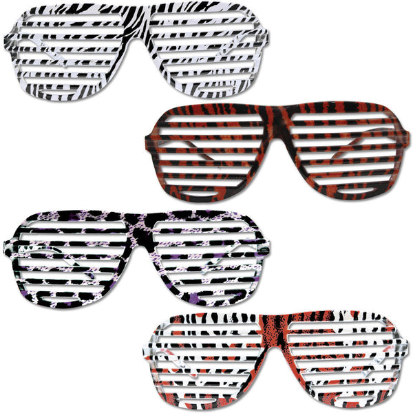 Animal Print K-West Style Glasses Case Pack 300