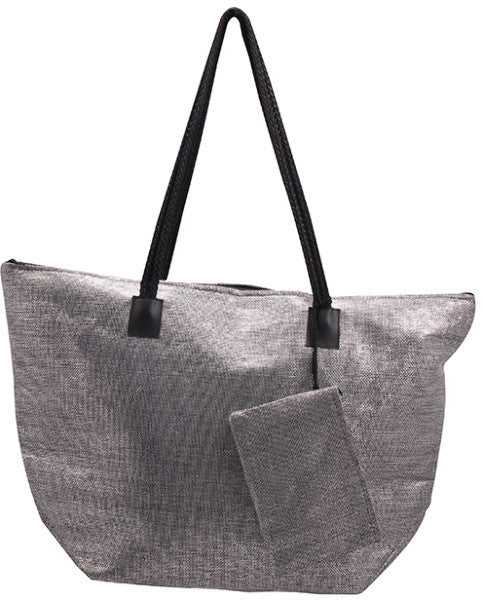 Roberto Amee Woven Straw Tote Bag Case Pack 25