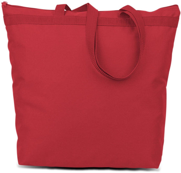 600 Denier Polyester Large Tote - Red Case Pack 48