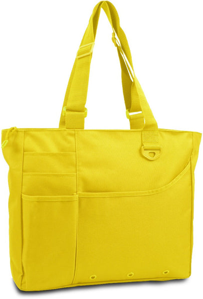 600 Denier Super Feature Tote - Bright Yellow Case Pack 24