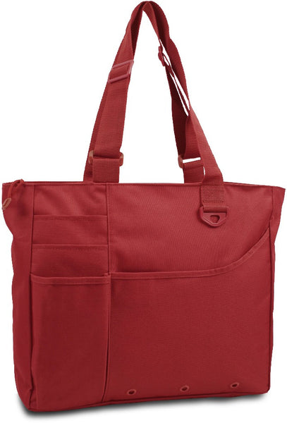 600 Denier Super Feature Tote - Cardinal Case Pack 24