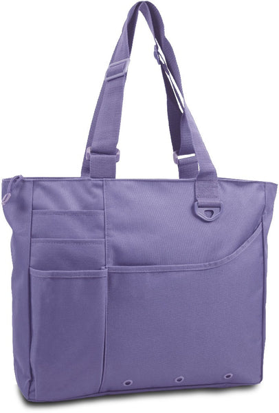 600 Denier Super Feature Tote - Lavender Case Pack 24