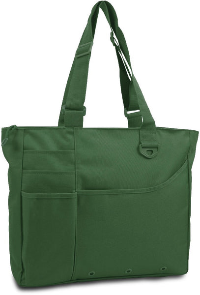 600 Denier Super Feature Tote - Forest Case Pack 24
