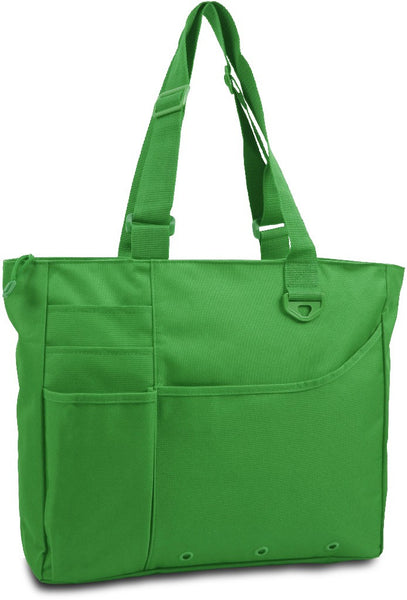 600 Denier Super Feature Tote - Kelly Case Pack 24
