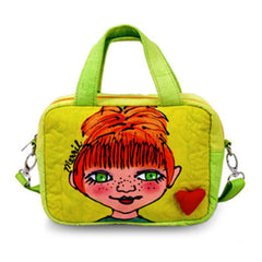 New Fashion BrightFaces Ladies Green Eyes Small Stylish/Colorful Shoulder Tote Bag