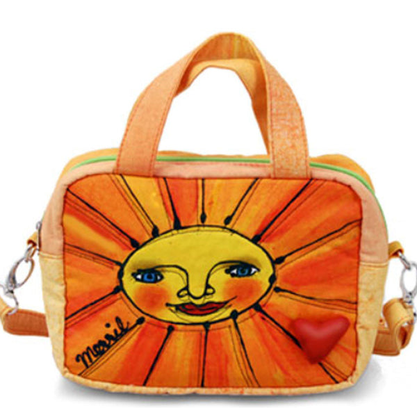 Hot Sale BrightWorld Ladies Sun Small Stylish/Colorful Shoulder Tote Bag