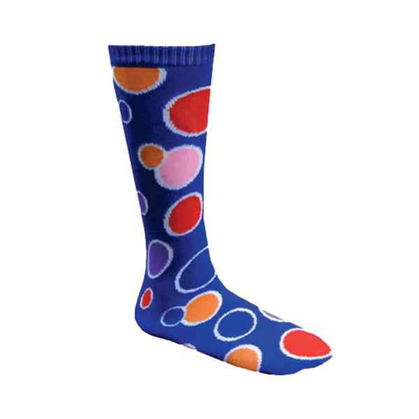 New Dress Up America Halloween 2016 Costume Blue Circle Knee Socks for Kids