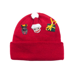 Kidorable Kids Toddler Christmas Hat Red One Size