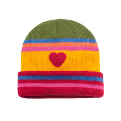 Kidorable Kids Toddler Heart Hat Yellow One Size