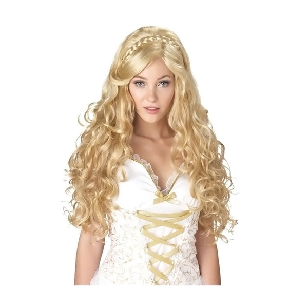 New Arrival Mythic Goddess Blonde Halloween 2016 Wig