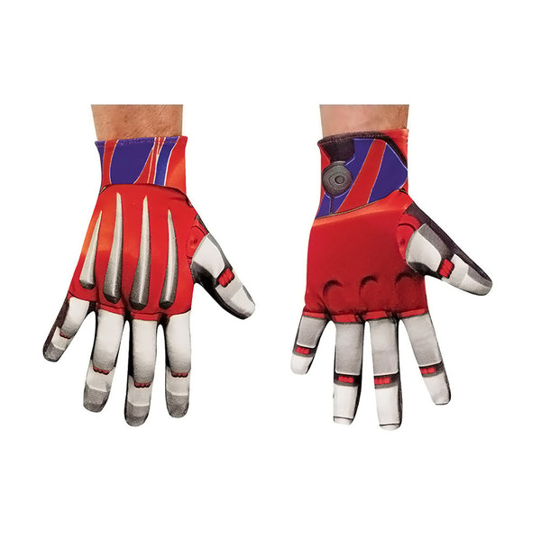 Hasbro Halloween 2016 Costume Optimus Prime Gloves for Adult