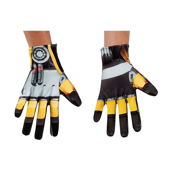 New Arrival Hasbro Halloween 2016 Costume Bumblebee Gloves for Adult