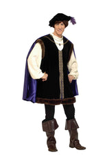 New Halloween Party Creepy Scary Costume Noble Lord for Adult - Large 46-48