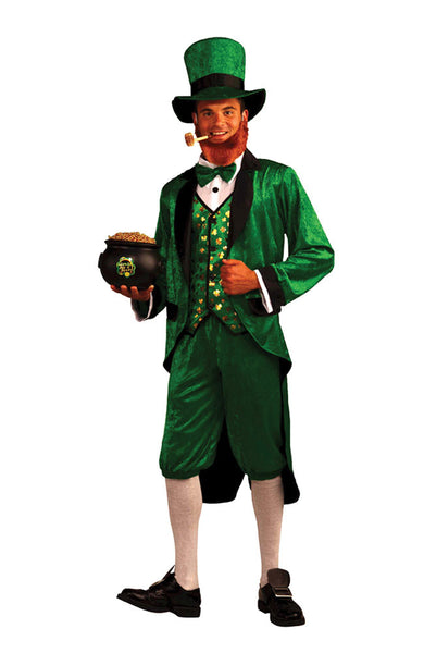 New Halloween 2016 Party Creepy Scary Costume Mr Leprechaun for Adult
