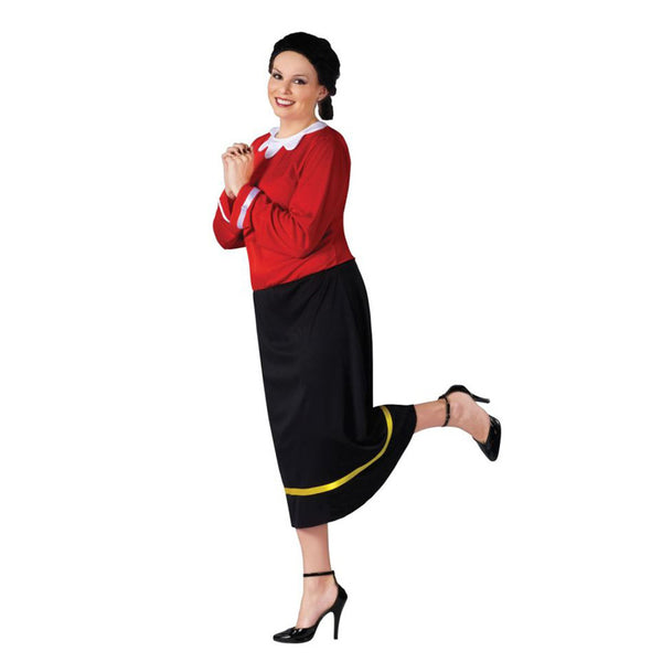 Morris Halloween 2016 Costumes Olive Oyl Plus Size for Adult