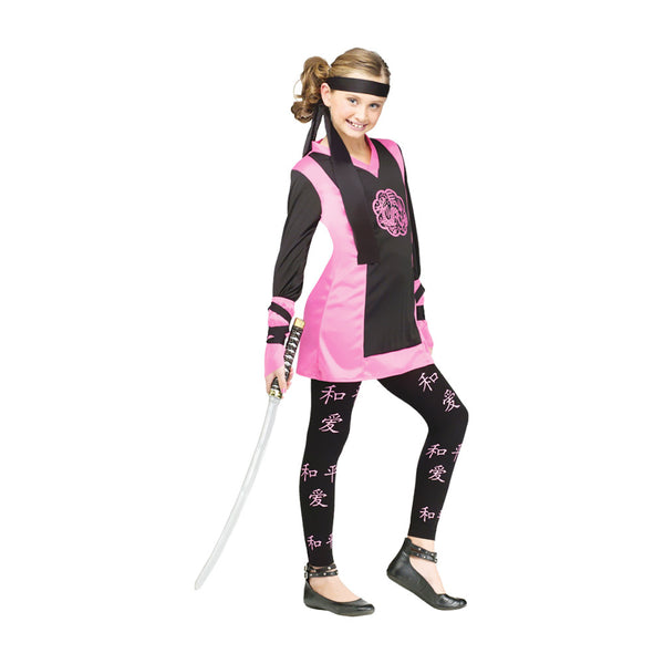 New Trendy Dragon Ninja Girl Child Large 12-14