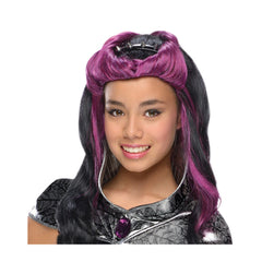 New Arrival Eah Raven Queen Wig for Children