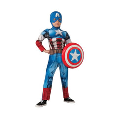 2016 New Arrival Capt America Costume for Child Medium