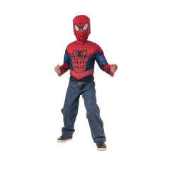 New 2016 Trendy Spiderman Muscle Chest Shirt for Kids
