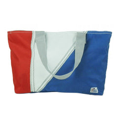 Sailorsbag Outdoor Travel Sailcloth Beach Tri-Sail Tote
