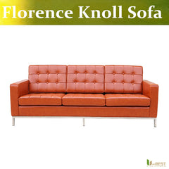 U-BEST designer Furniture by Florence Knoll,living sofa and sleepers,Relax 3 seat sofa,Florence Knoll  three-seater sofa