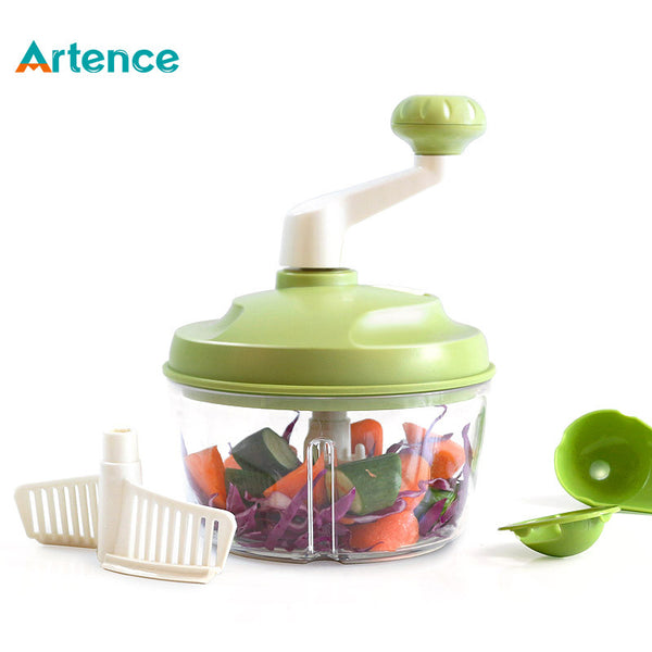 Household Multifunction Manual Food Processor For Meat Vegetable Egg Beans Professional Blender Food Cooking Mixer&Grinder