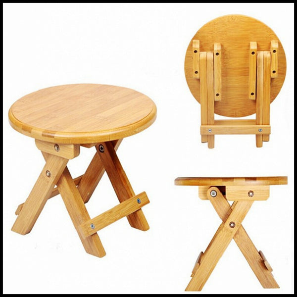 Environmental bamboo made small benches creative & fold small bamboo benches useful Chinese traditional crafts