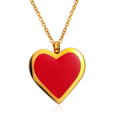 Free Shipping Women's Heart Necklace Sweet Romantic Valentine's Day gift