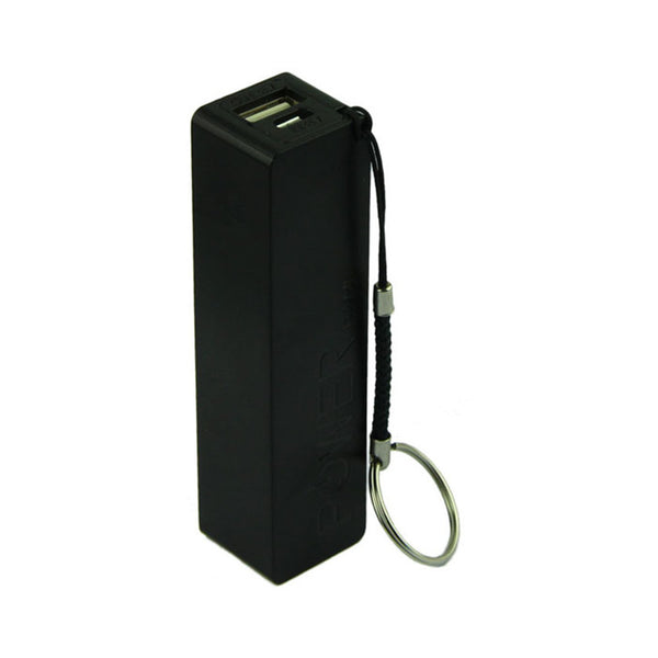 Best Price Portable Power Bank 18650 External Backup Battery Charger With Key Chain