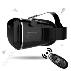 New Amazing VR SHINECON Virtual Reality 3D Glasses Helmet VR Box Headset For Smartphone 3.5 inch ~ 6 inch Free Shipping