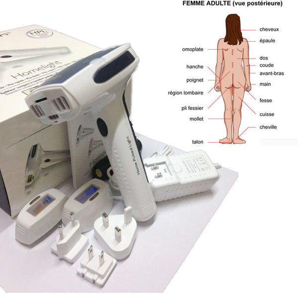 Newest Hot Permanent Hair Removal Laser Hair Epilator Home lazer epilasyon Shaving Depilador Wholde women depilador laser