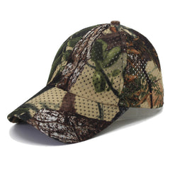 Green Camouflage Vintage Washed Adjustable Trucker Baseball Cap Hat One Size Fits Most Camouflage Hat Cap
