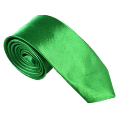 Mens 2 Inch Skinny Necktie Neck Ties Green Solid Color Slim Narrow Wedding Ties Men's Fashion Accessories Free Shipping 10 pcs