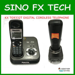 Freeship Original KX-TG9332T wireless handsfree home use PHONE DEC 6.0 DIGITAL CORDLESS ANSWERING machine