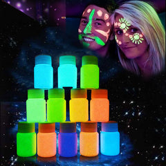20ml UV Glow Neon Face Body Paint Fluorescent Bright Fluo Irradiate luminescent Party Festival Decoration Party Makeup  @ME88
