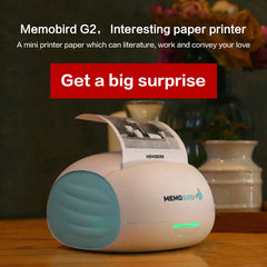 MEMOBIRD New Little Printer Wifi Portable Bluetooth Printing Barcode  Wireless Pocket Thermal Printer Electronic Computer Office