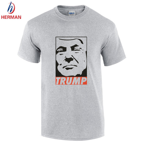 Donald Trump Men's O Neck Donald Trump Tshirt for President Clothing