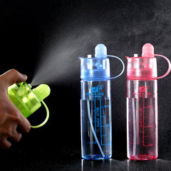 Creative Water Spray Cup Cool Beauty Sports Bottle Canteen Cycling A Spray Bottle Space Cup Atomizing Cups Nutrition Custom Cup