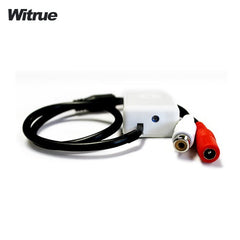 Witrue 4pcs a lot MINI AUDIO CCTV MICROPHONE MIC FOR SECURITY DVR CAMERAS cctv accessories