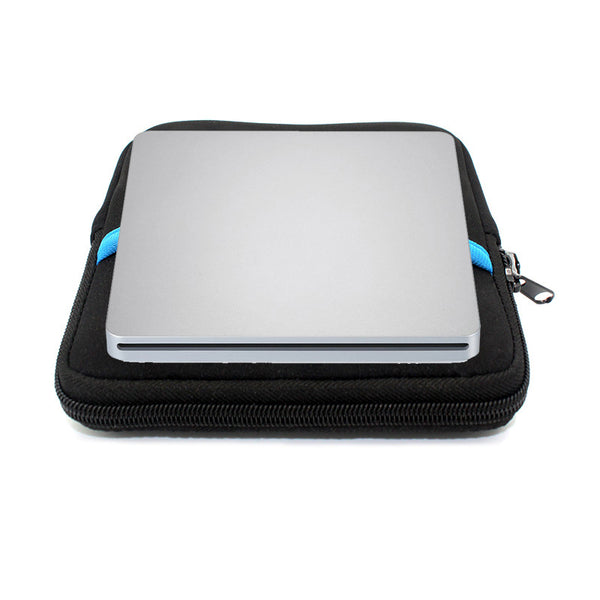 External  Blu-ray Optical Drive  CD/DVD/BD-RE Burner  Player Recorder  Portable  for Apple Macbook iMac Lapto+Driver bag